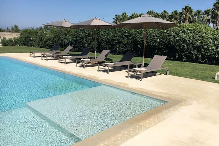 Masseria Romantico with Pool - Li Foggi - Apartamento