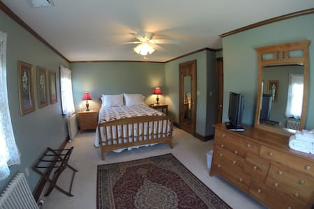 Whistling Acres Guest House/Pond View - Kutztown - Haus