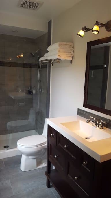 Private Ensuite with Luxurious Shower
