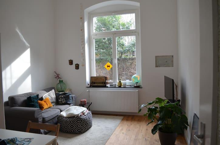Gemütliche Wohnung mit Altbaucharme und Garten