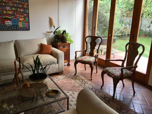 Habitación single, entrada independiente