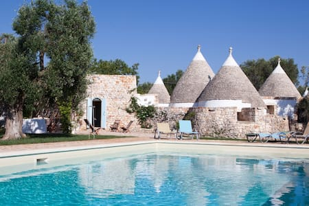 Trulli Fico d'India: Luxury Trulli in Puglia with private pool - Ceglie Messapica - House