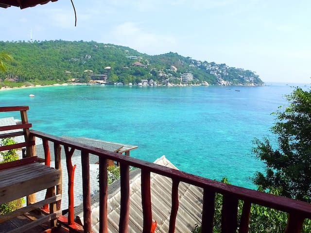 Ko Tao Peacful Paradise view Bungalow@Shark Bay
