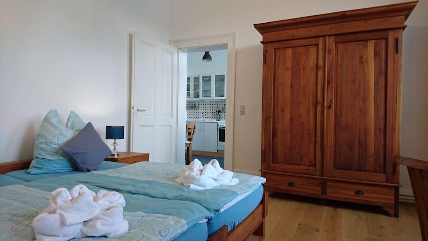 Südstadt-Appartement mit Gartenblick