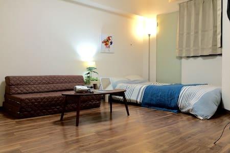 3) 2mins Namba Chartered WIFI 4PAX  - โอซาก้า - อพาร์ทเมนท์