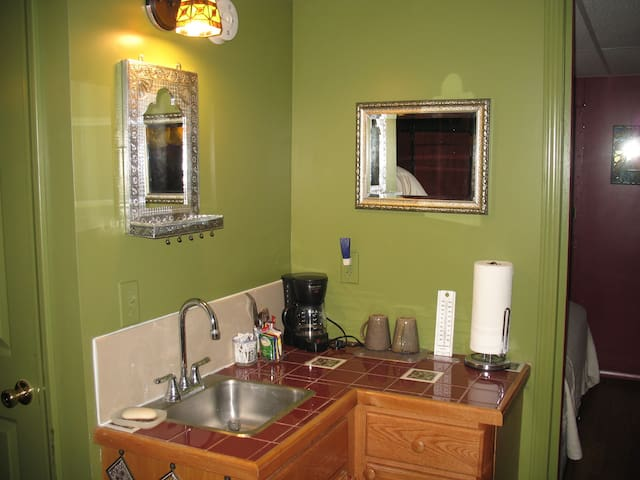 Kitchen area (sink and counter)