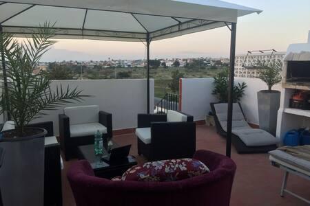 Loft Studio, WIFI, Terrasse, Meer - El Chaparral - Loft