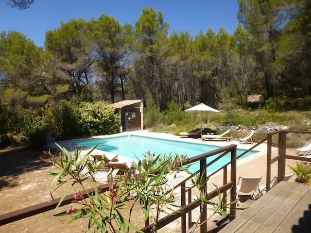 Appartement T2 avec piscine à 8 mn d'Aix en pce - Venelles - Wohnung