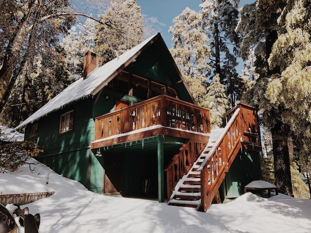 Winter at Road Trip Cabin