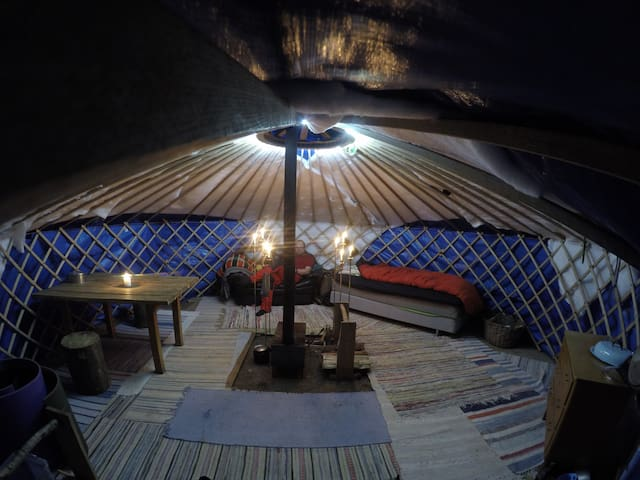 Cosy Yurt near Gothenburg