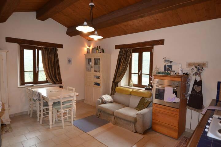 Apartment in Val Marecchia, strategic location for visiting the area.