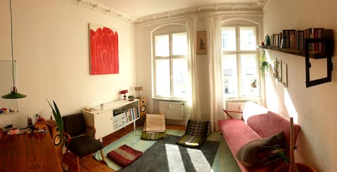 Flat with love in vibrant Neukölln 50m²