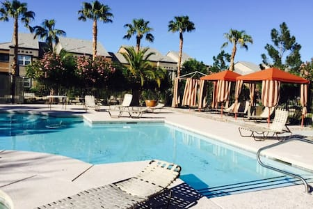 Cozy 2b2b have 1B1B furnished with two single beds - Las Vegas