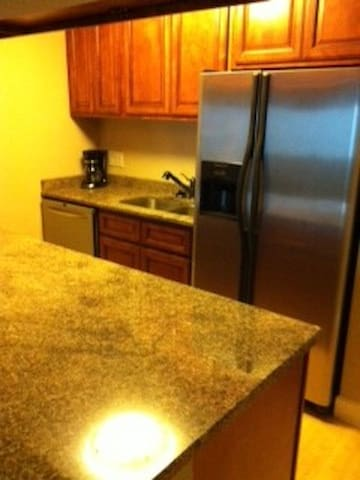 All new appliances and granite counter