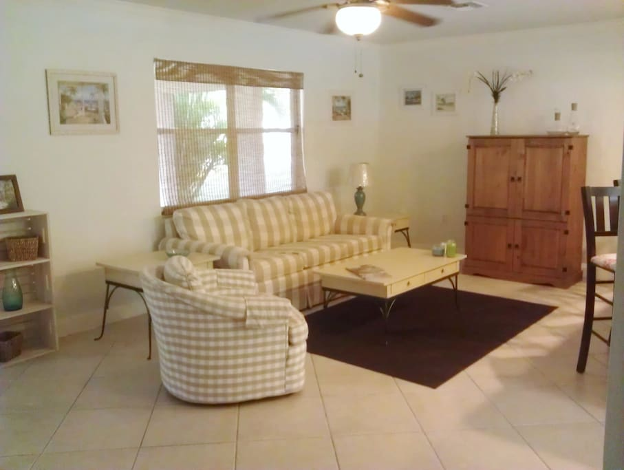 Family room - with sleeper queen sofa