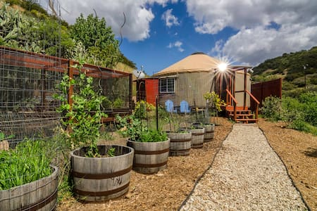 Malibu Yurt Retreat On Organic Farm - 馬里布