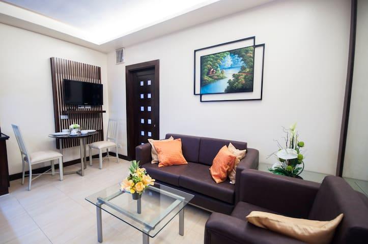 1Bedroom with bath tub in Cebu City