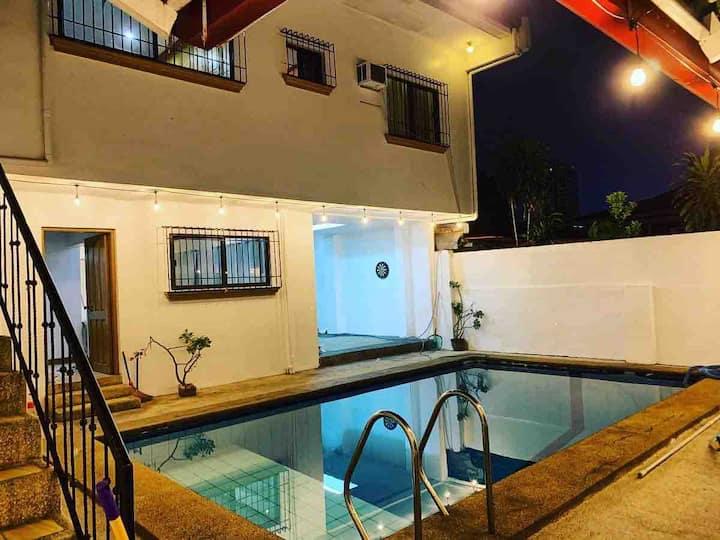 Project Rajah Crib with Diving Pool near Katipunan