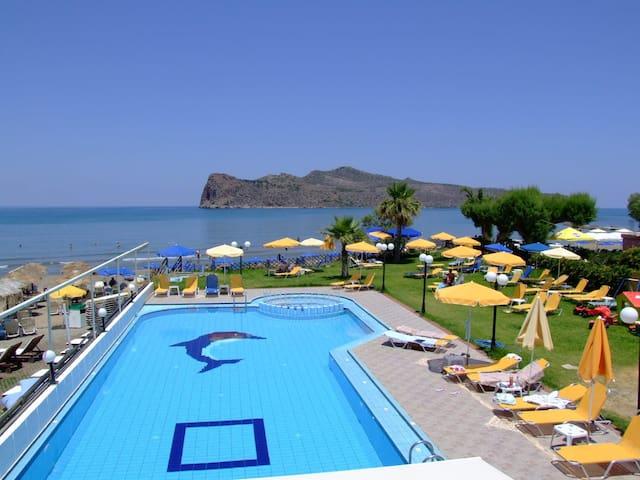 Apartments For In Agia Marina Crete Greece