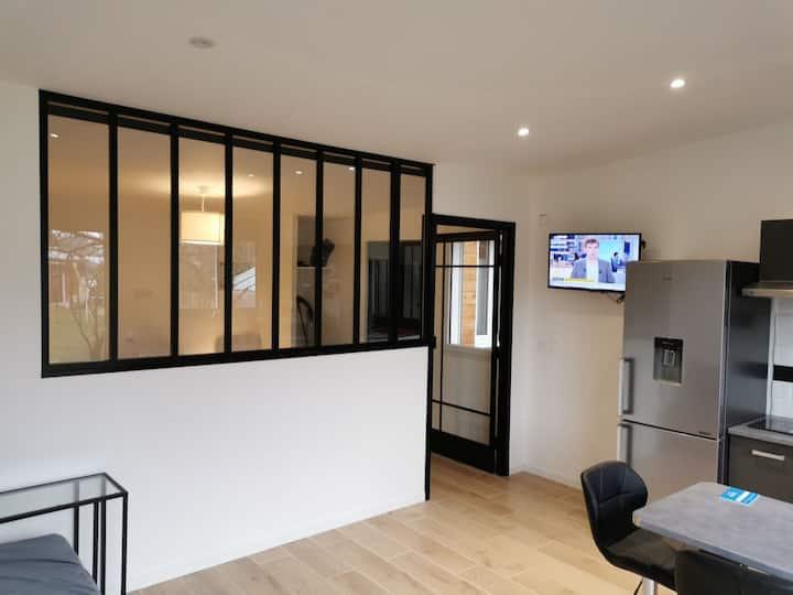 Appartement T2 au calme proche Rennes