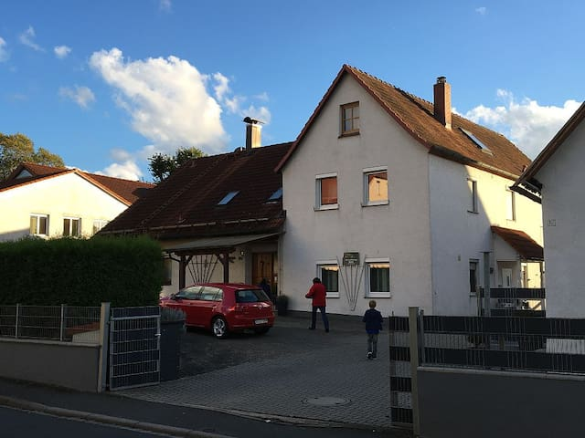 Gemütliche Ferienwohnung in Mitten der Fränkischen - Pretzfeld - Apartamento