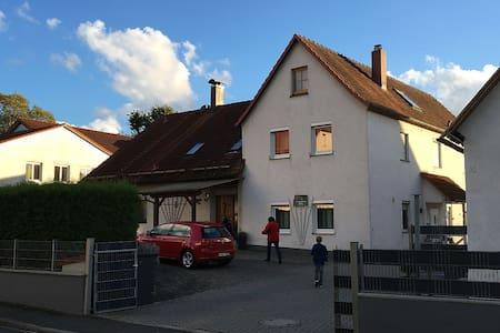 Gemütliche Ferienwohnung in Mitten der Fränkischen - Pretzfeld