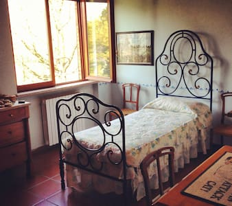 Charming rooms in lakeside villa - Castelletto sopra Ticino - Villa