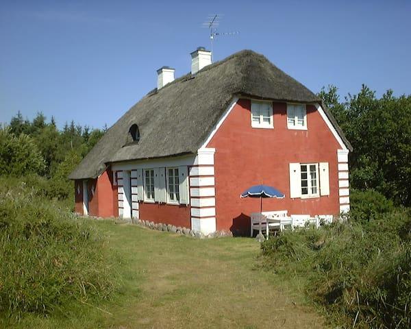 Classic Danish summer cottage - Fjerritslev - Casa