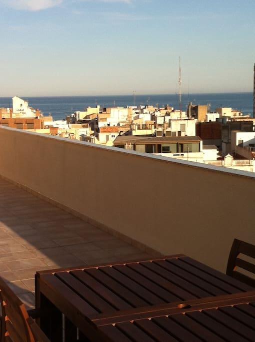 Atico centrico con vistas al mar apartments for rent in for 100 overlook terrace