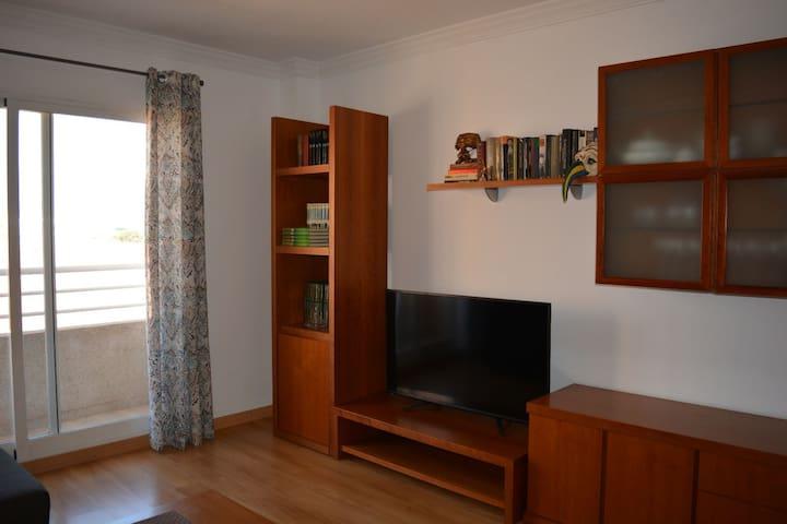 Apartamento próximo feria muestras confortable