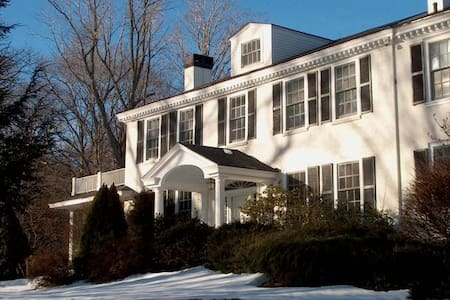 Elegant Mountainside Country Estate - Jaffrey - Rumah