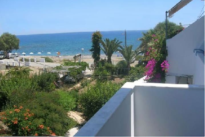 Sea view apartment for 2 in Kiotari - Rhodos - Lejlighed