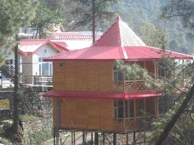 |Two Bedrooms in nature lodge|--The Gladiolus - Chail - Doğa içinde pansiyon