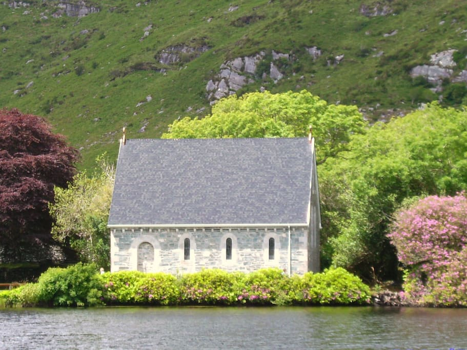 Gougane Barra & St. Finbarr's Oratory - famous for it's pilgrimages and as a popular wedding location.