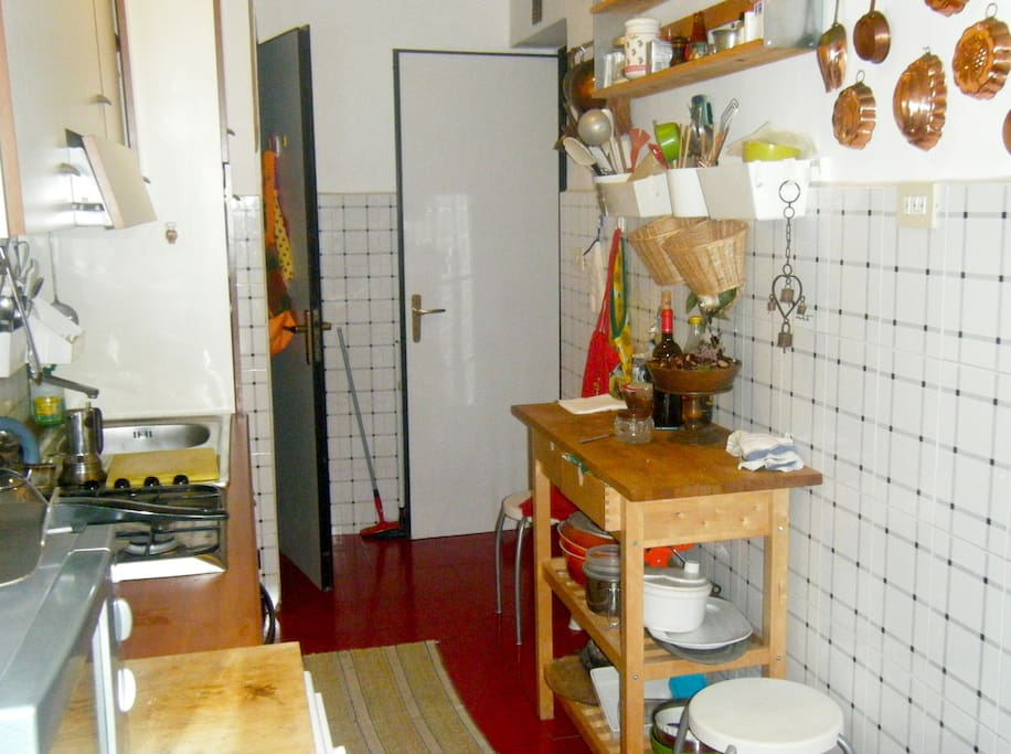 A kitchen for cooks