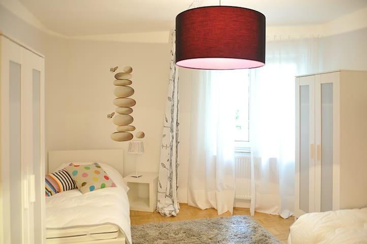 2 Zimmer Apartment für 3 Personen - Mannheim - Appartement