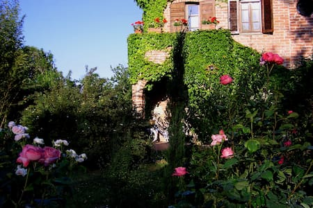 Old restored farmhouse on the border with Tuscany. - Castiglione del Lago - Daire