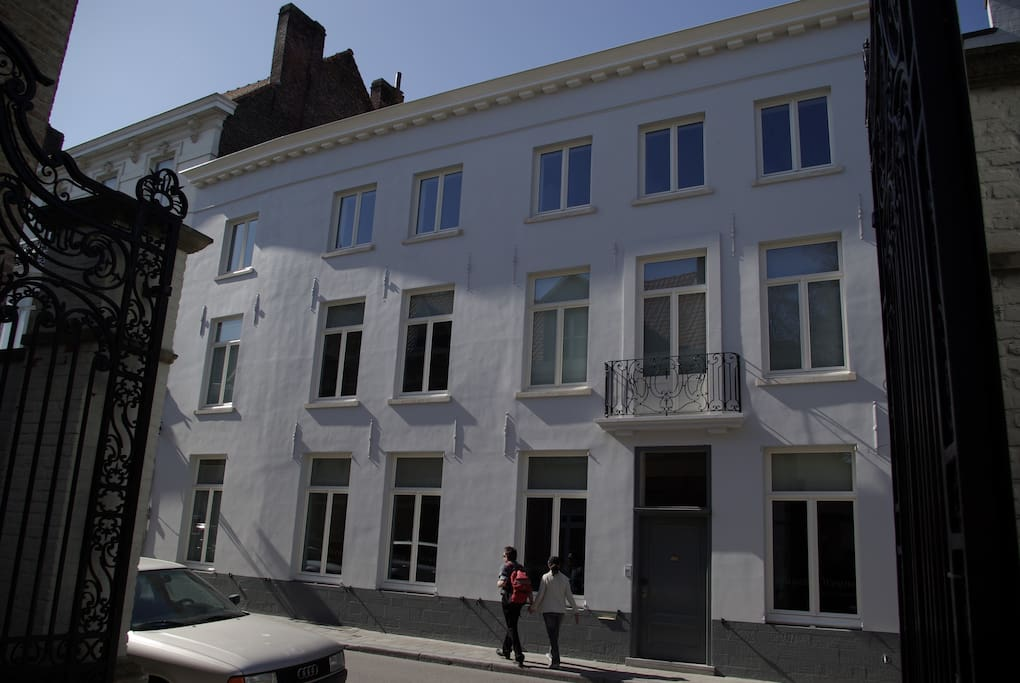 Luxurious mansion historic bruges 2 chambres d 39 h tes for Chambre d hotes bruges