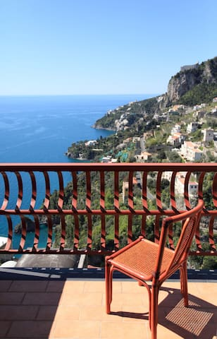 A terrace on the sea of AMALFI - Amalfi