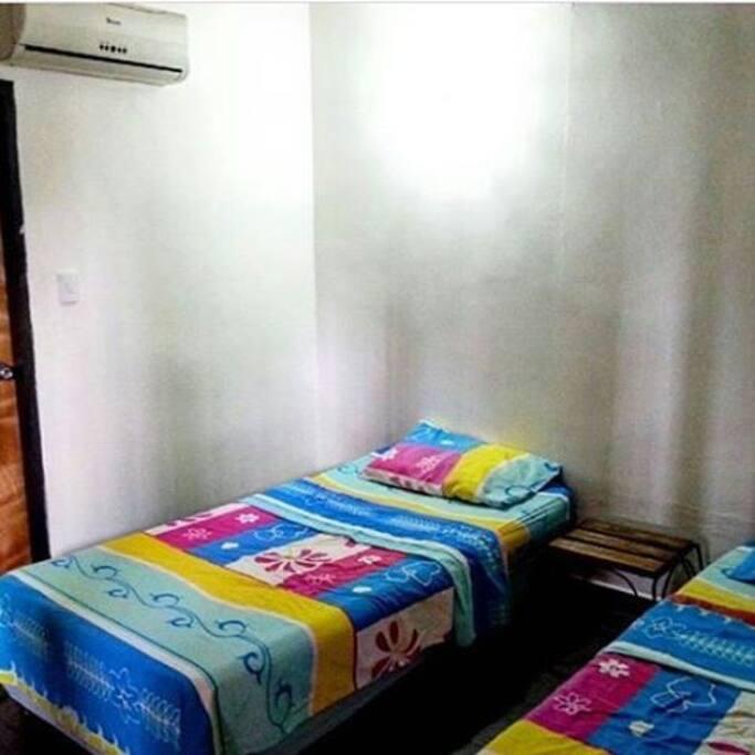 Habitación doble con baño interno