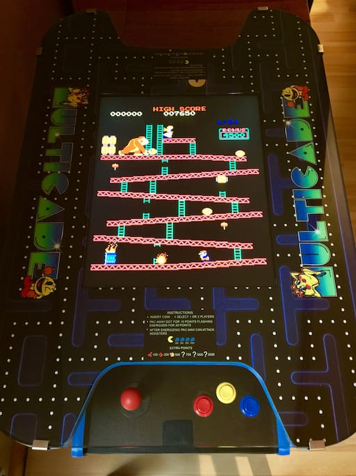 New!  60-in-1 Classic Video Game Multicade Table for 2 players