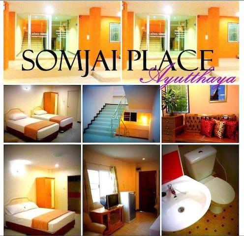 PRIVATE A/C DOUBLE ROOM - Phra Nakhon Si Ayutthaya - Leilighet