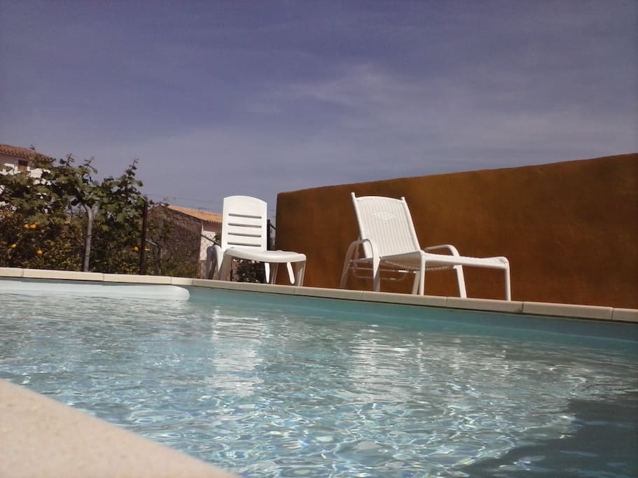 pool area zona piscina