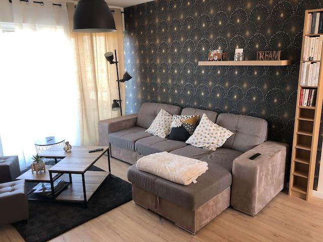 Appartement neuf 15 min à pieds centre ville