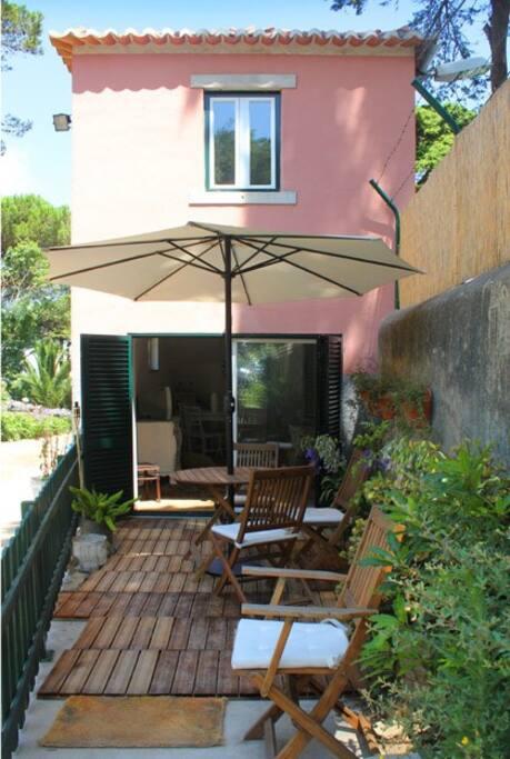 maison centre historique sintra maisons louer sintra district de lisbonne portugal. Black Bedroom Furniture Sets. Home Design Ideas
