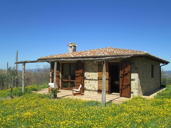 Casina: Maison dans la campagne toscane