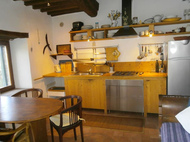 1BR 1BA with garden and terrace  - Roccastrada - Leilighet