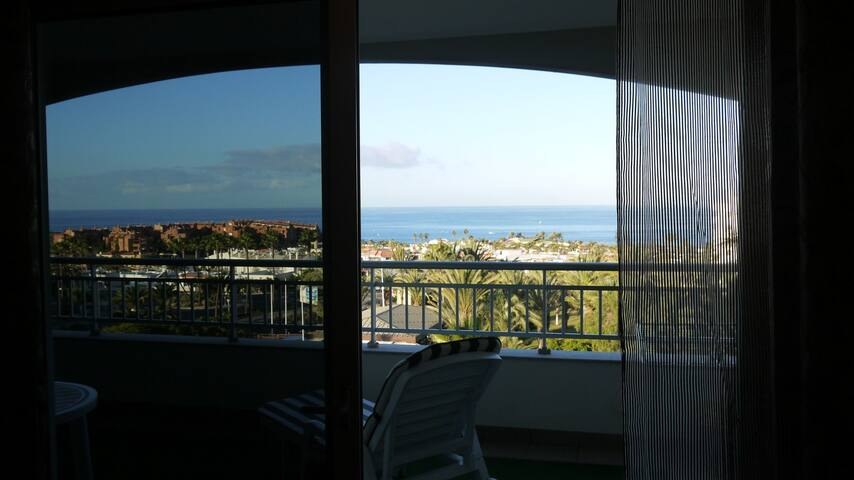 Comfortable apartment, ocean view - Palm-Mar - Apartment