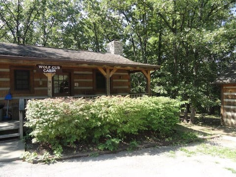 Wolf Cub Cabin with Private Hot Tub!