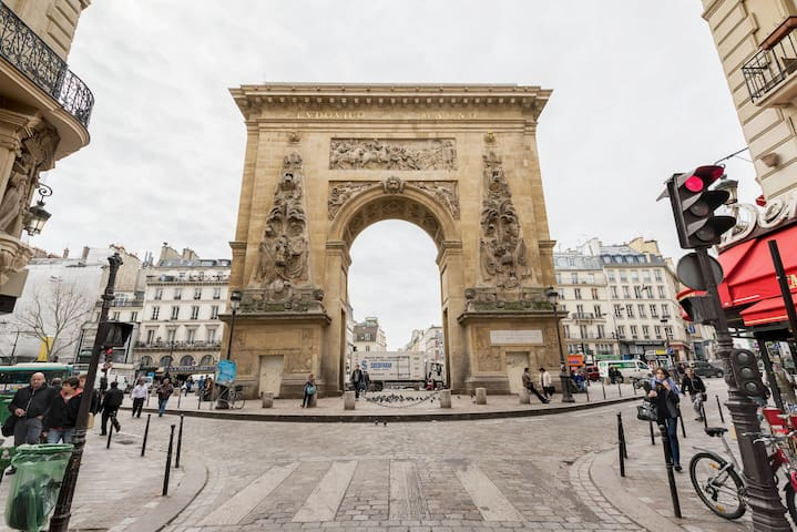 Studette in the heart of Paris